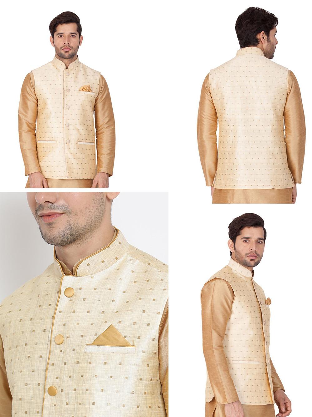 DESIGNER INDIAN JACKET-600008-M - $79.99