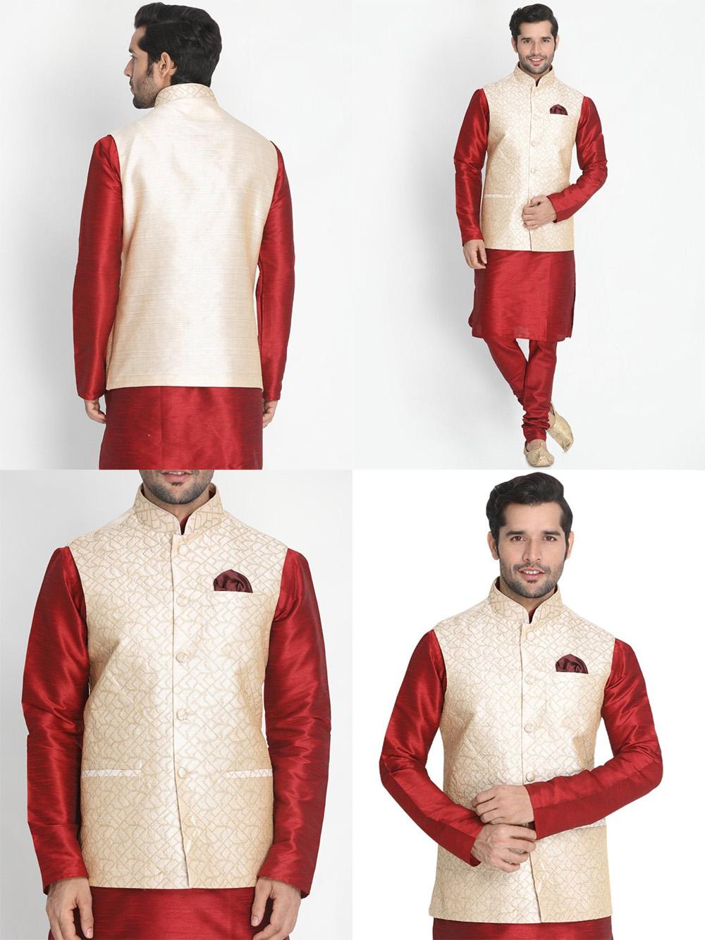 DESIGNER INDIAN JACKET-600011-M - $69.99
