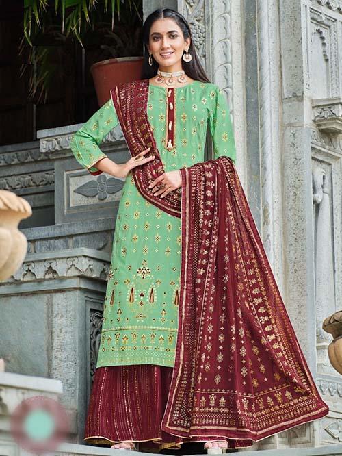 DESIGNER INDIAN SALWAR KAMEEZ BT-SK-R-96905-7003-3XL