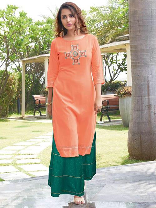 DESIGNER INDIAN KURTI BT-K-R-35162-7003-XL