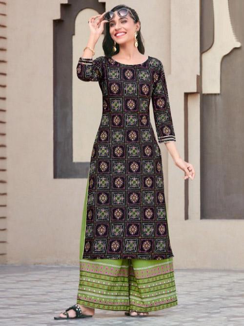 DESIGNER INDIAN KURTI BT-K-R-35240-9004-S
