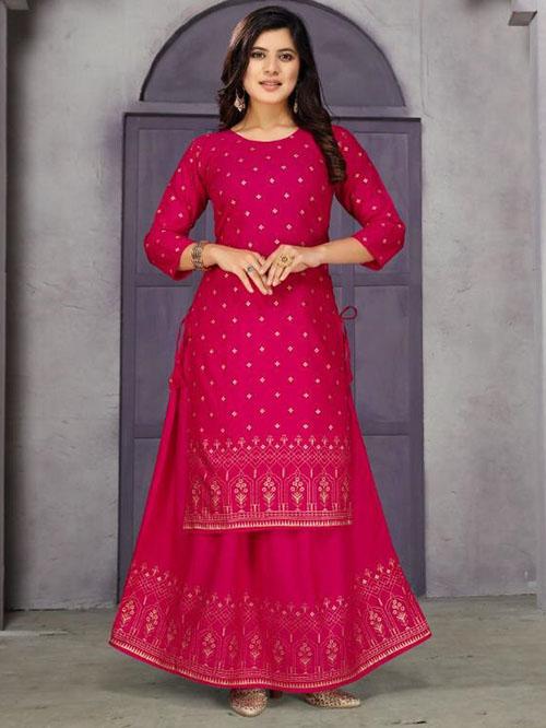 DESIGNER INDIAN KURTI BT-K-R-35562-7276-L