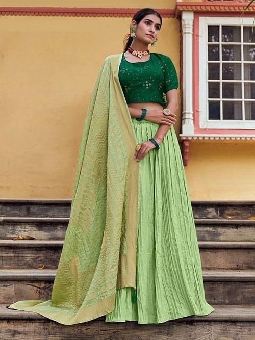 CELEBRITY INDIAN LEHENGA CHOLI BT-LH-R-1365591-1383-M