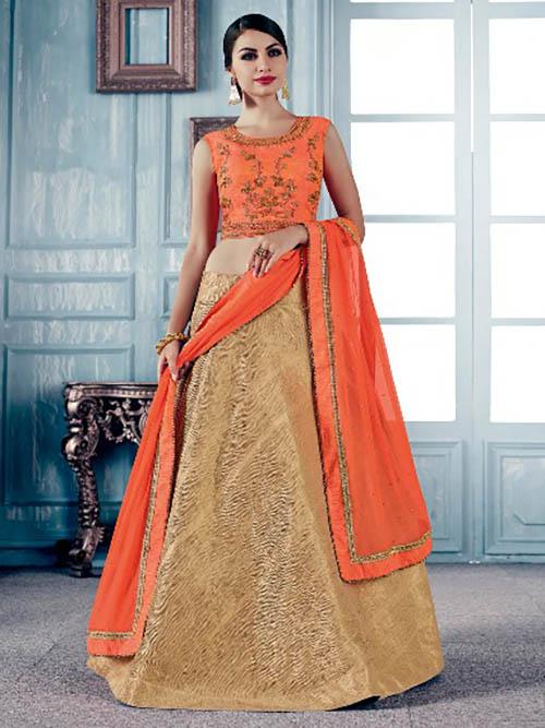 CELEBRITY INDIAN LEHENGA CHOLI BT-LH-R-71109-1849-L