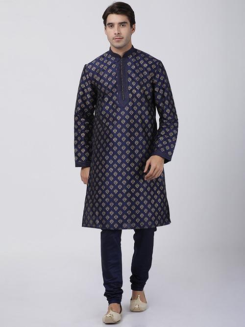 DESIGNER INDIAN KURTA PAJAMA BT-MKP-600126-2XL
