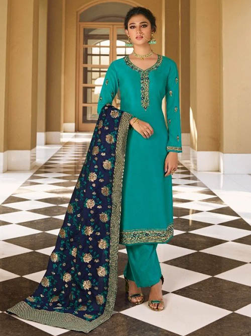 DESIGNER INDIAN SALWAR KAMEEZ BT-SK-R-34314-6603-2XL