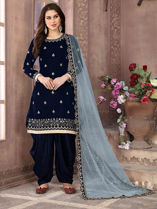 DESIGNER INDIAN SALWAR KAMEEZ BT-SK-R-35199-1803-L