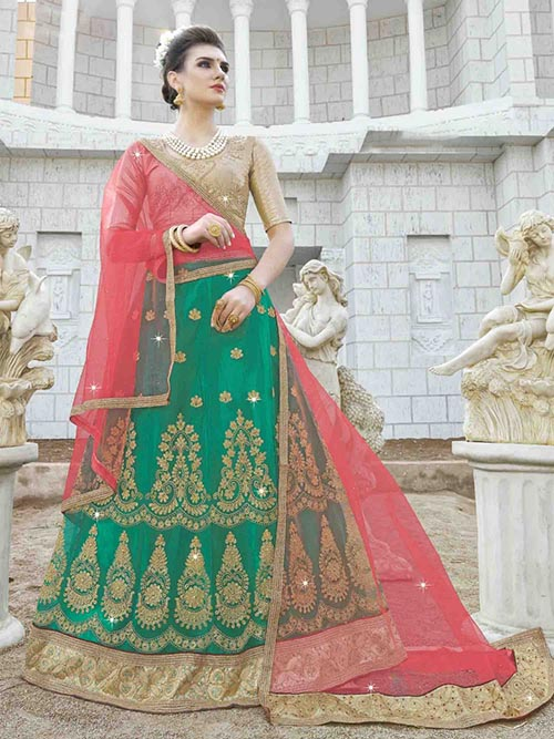 BEAUTIFUL INDIAN KIDS LEHENGA CHOLI - BT-LH-R-10335