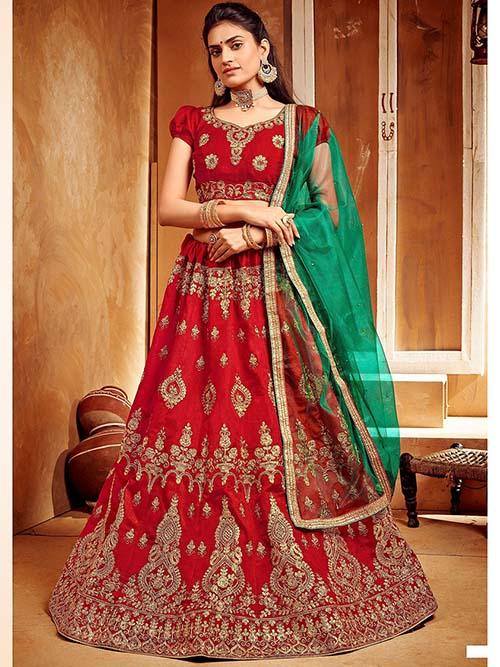 BEAUTIFUL INDIAN KIDS LEHENGA CHOLI - BT-LH-R-10341