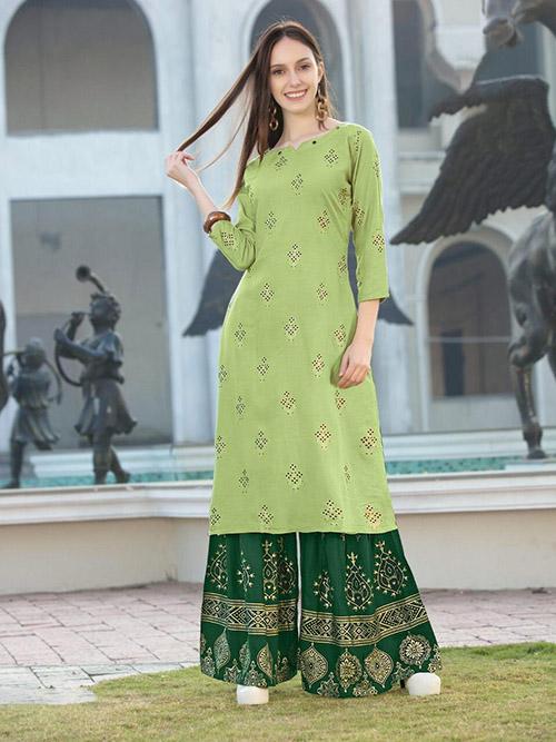 DESIGNER INDIAN KURTI - BT-K-R-90256-L