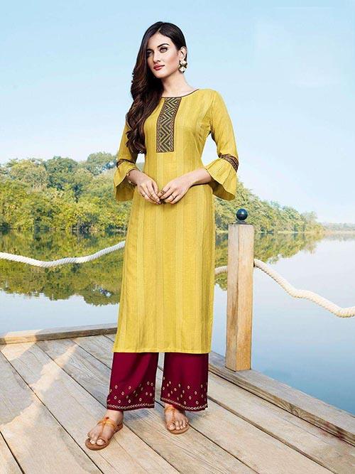 DESIGNER INDIAN KURTI - BT-K-R-90342-L