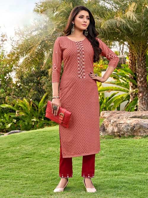 DESIGNER INDIAN KURTI - BT-K-R-90353-L