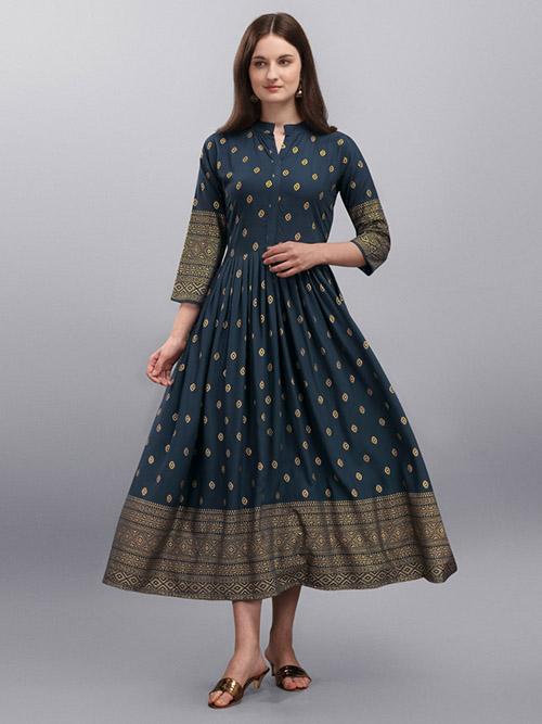 DESIGNER INDIAN KURTI - BT-K-R-90363-XXL