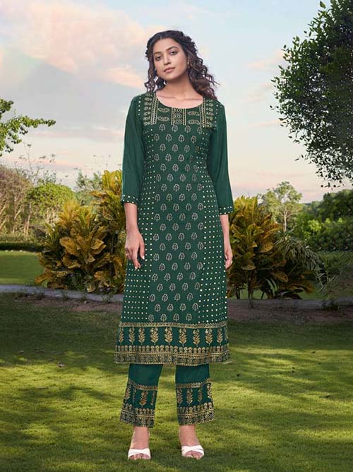 DESIGNER INDIAN KURTI - BT-K-R-90374-XXL