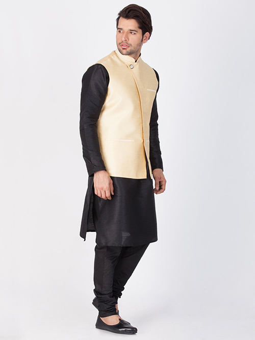 DESIGNER INDIAN KURTA PAJAMA JACKET-600006-XL