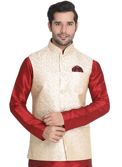 DESIGNER INDIAN JACKET-600011-L