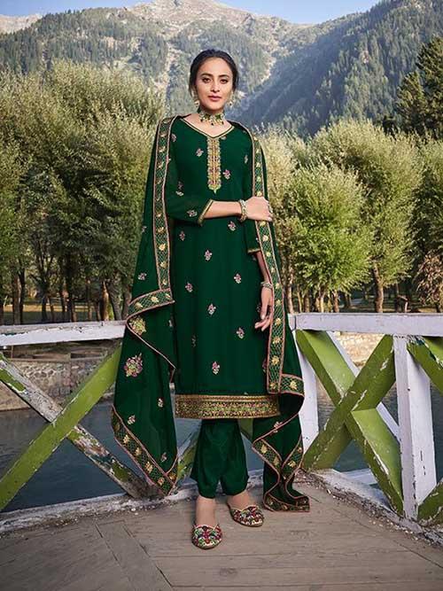 DESIGNER INDIAN SALWAR KAMEEZ - BT-SK-R-30683-XXL