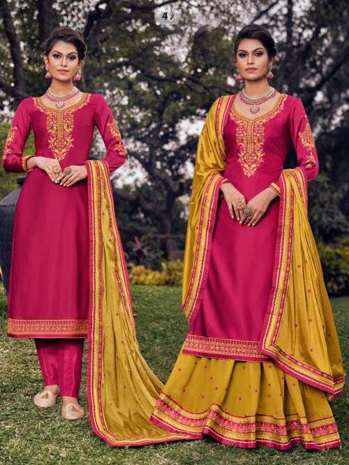 DESIGNER INDIAN SALWAR KAMEEZ - BT-SK-R-30901-3XL