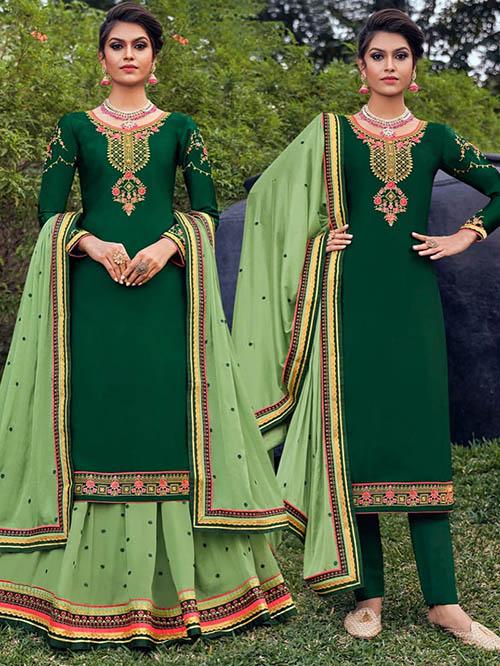 DESIGNER INDIAN SALWAR KAMEEZ - BT-SK-R-30904-3XL