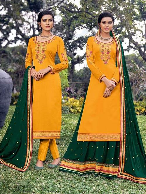 DESIGNER INDIAN SALWAR KAMEEZ - BT-SK-R-30906-3XL