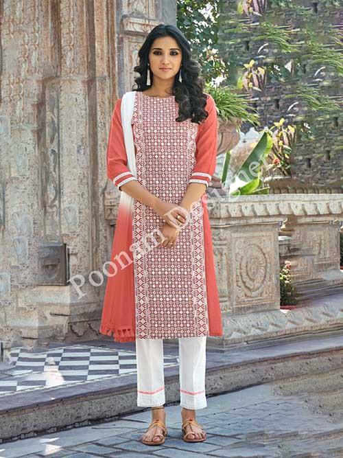 DESIGNER INDIAN SALWAR KAMEEZ - BT-SK-R-31001-3XL
