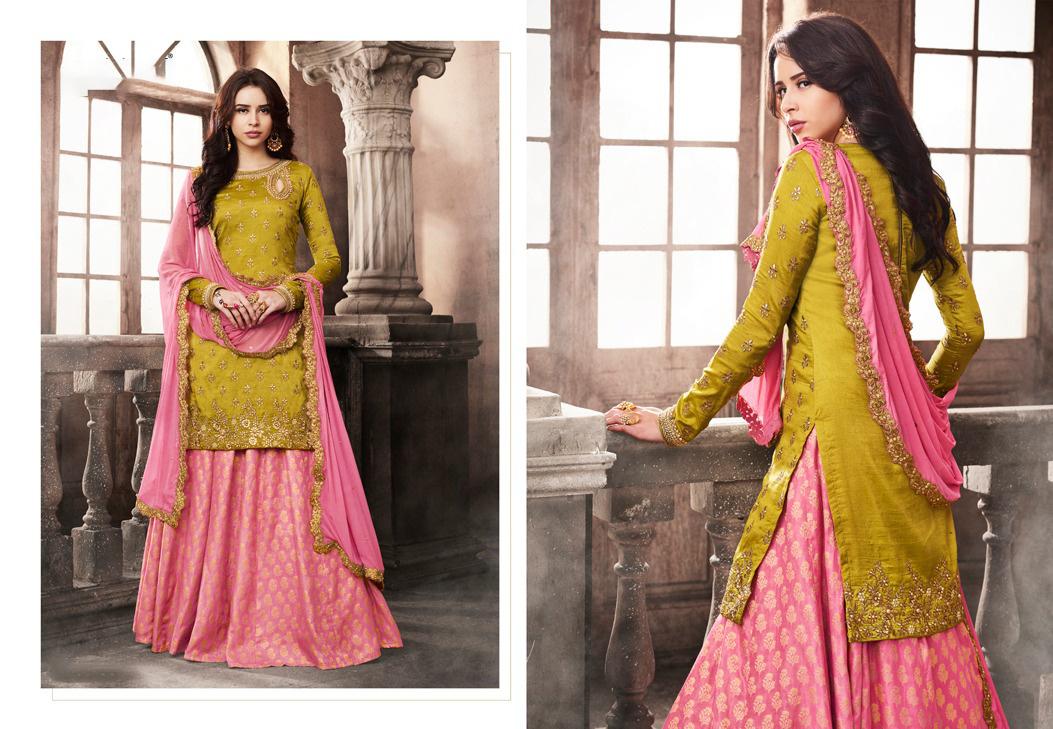 Bollywood Trends - $109.99 DESIGNER INDO WESTERN GOWN - BT-IW8005 ...